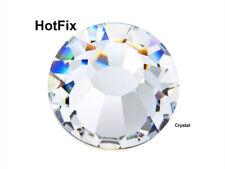 HOTFIX Crystal Clear Preciosa Genuine Czech Viva Chaton Rose Flatback Rhinestone