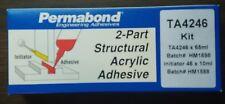 NEW PERMABOND TA4246/65 STRUCTURAL ACRYLIC ADHESIVE KIT 65 ML