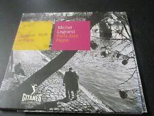 "CD DIGIPACK ""MICHEL LEGRAND : PARIS JAZZ PIANO"""