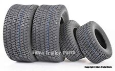 Set of 4 New Lawn Mower Turf Tires 16x6.5-8 Front & 23x10.5-12 Rear 4PR 13019/49