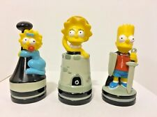 The Simpsons 3 Pieces Cake Toppers Bart Lisa Maggie Figures Chess Set Pieces
