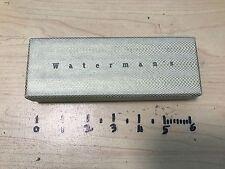 Waterman edson Serenite Carrera Le Man 100 200 fountain pen box