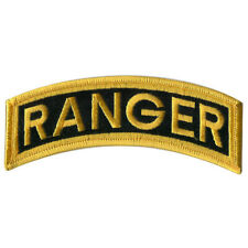 US ARMY RANGER TAB 5 INCH PATCH - MADE IN THE USA!
