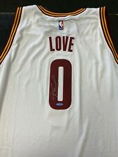 Cleveland Cavaliers Kevin Love Autographed Authentic Adidas White Jersey UDA