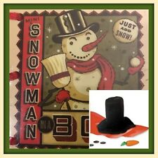 Mini Snowman in a Box: Craft Kit & Book by Nancy Armstrong - Stocking Stuffer