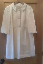 Knee Length Cotton Blend Petite Coats & Jackets for Women