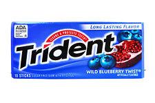 Trident wild blueberry twist gomme