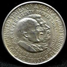 1952 50c Carver/Washington Commemorative Silver Half Dollar Coin. #2