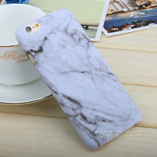 Hard Back Marble Granite Texture Phone Case Cover For Apple iPhone 5 6 6s 7 Plus