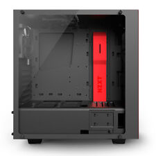 NZXT S340 Elite Midi-tower Black Red Computer Case Ca-s340w-b4
