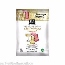 2 Pks Project 7 NEWEST PRODUCT Champagne Dreams Brut & Rose' GUMMY BEARS 2oz.ea