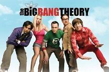 THE BIG BANG THEORY POSTER 60x90cm NEW * TV Raj Penny Sheldon Leonard Howard