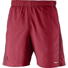 pantaloncini Salomon uomo Park Training Short men's victory red running shorts S