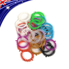 EASYINSMILE Dental Orthodontic Cartoon Ligature Ties Elastic Rubber Band 1000pcs