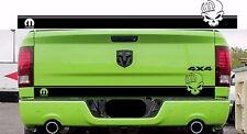 Ram 1500 Mopar Skull Tailgate Stripe Decal Hemi Dodge Truck 2009-2018 DR13