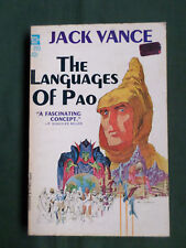 THE LANGUAGES OF PAO - JACK VANCE  - SCI- FI  - ACE USA P/BACK  - 1958