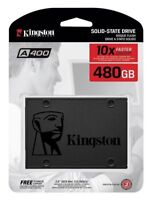 "Kingston 480GB SSD A400 2.5"" SATA III 6 Gb/s 550MB/s 480G SA400S37/480G"