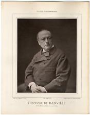 Galerie Contemporaine, Théodore de Banville (1823 - 1891), poète, dramaturge et