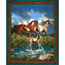 Wild Wings Camden Yard Horse and Foal Wall Panel 36