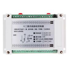 Lndustrial Control Shell Learning 12 Volt 12 Remote Control Switch E0Xc