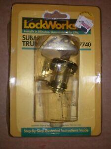 NORS 90-93 SUBARU LOYALE 85-89 GL DL 87-89 RX TRUNK LOCK CYLINDER W/ KEYS