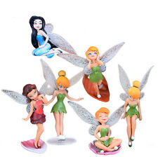 Set 6 Stk. Engel Deko Figur Teelichthalter Elfen Feen Fairy Fantasy Dekoration