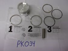 HONDA ATC 200M  ATC 200 ATC 200E + ES BIG RED PISTON KIT .50 MM OS 65.50 MM