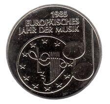 """5 DM 1985 F """"Jahr der Musik"""" in prägefrisch"""