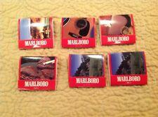 Vintage 1994 Malboro Best Of The West Lot Of 6 Unstruck Matchbooks