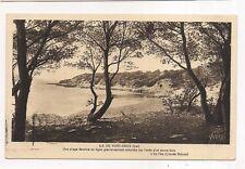 ile de port-cros ,une plage dessine sa ligne