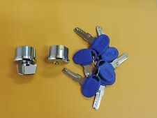 CASA Brass Cylinders with 6 KABA key for the replacement~(Adams Rite Type)~