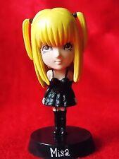 """Death Note MISA AMANE Bobblehead Figure / SOLID PVC 2.8"""" 7cm MINT / UK DESPATCH"""