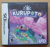 Kurupoto Cool Cool Stars Nintendo DS DS Lite 3DS 2DS Game Works Tested Complet