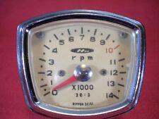 Honda 92 CB CB92 CYB CE71 CSA77  OEM Late Nippon Tachometer 60s #VP 100