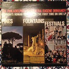 Ormandy Respighi Pines Of Rome Roman Festivals LP Columbia KS 6587