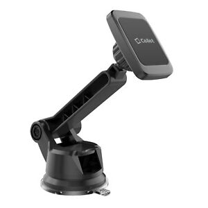 Extra Strength Magnetic Car Dash /Windshield Folding Phone Mount +360° Rotation
