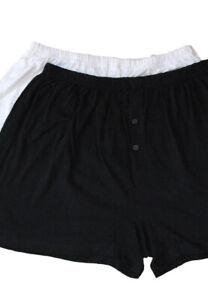 Plus Size Mens 100% Cotton Boxer Shorts XXXXL Very Large Sizes 8XL - 10XL