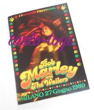 BOB MARLEY Milano italy 27 giugno 1980 unofficial photo book - libro fotografico