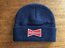 Lucky Brand Budweiser Beanie winter Hat $39.99 Retail NWT new in bag