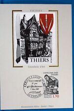 THIERS COUTELLERIE D ART   FRANCE CPA   Carte Postale Maximum  Yt  2467 C