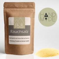 1000g Rauchsalz Hickory  Smoked Salt plastikfrei verpackt  JKR Spices