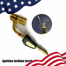 Gas Self Ignition Turbine Torch Brazing Solder Propane Welding Industrial Torch