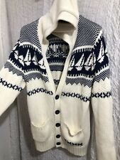 RiverIsland mens Cardigan Thick Cable Knitwear ❄️Long Sleeve Med