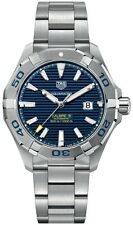 NEW GENUINE TAG HEUER AQUARACER CALIBRE 5 AUTOMATIC WATCH WAY2012.BA0927