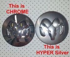 "2.5""Dodge CHROME wheel CENTER CAP Durango Dakota Ram1500 Caliber Avenger Charger"