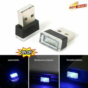 Mini USB LED Car Interior Light Neon Atmosphere Ambient Lamp Nice New L8B5