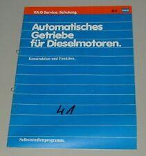 SSP 41 Automatisches Getriebe für Diesel Motoren VW + Audi Stand Juni 1981!