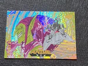 2020 Marvel Anime #81 GREEN GOBLIN TIER 3 Mega Moon Card 1:72 packs