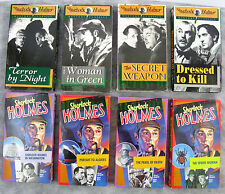 SHERLOCK HOLMES Mystery Collection VHS Key / Alpha Video 8 Stories! BIG PICS!