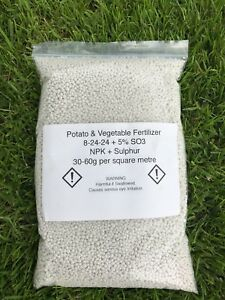 Fertilizer For Potatoes And Vegetables 2KG - Professional Grade 8-24-24+5 NPK